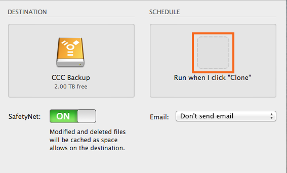 Configure the Task