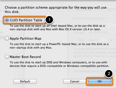 Preparing your backup disk for a backup of macOS | Carbon