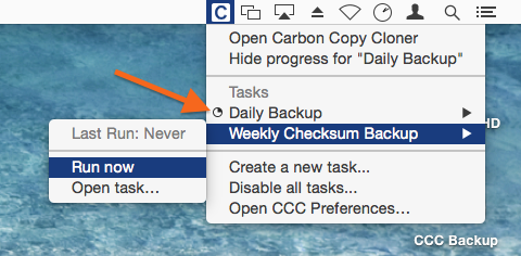 Menubar application offers quick access to your tasks