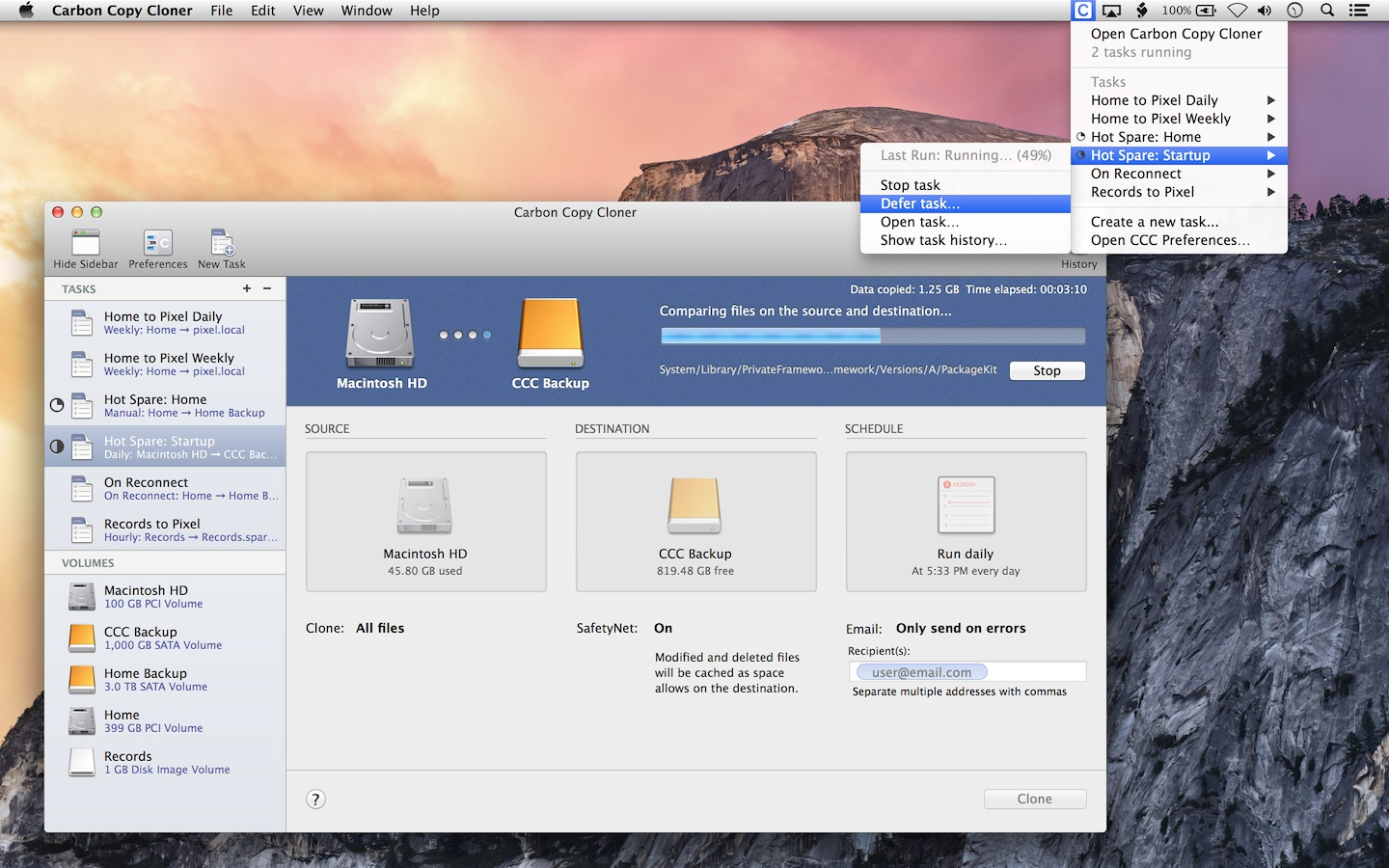 carbon copy cloner mac free version