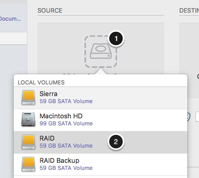 mac backup external hard drive to another external hard drive